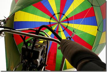 Piloter une montgolfière